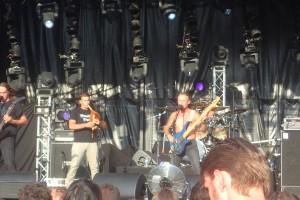 Baptiste playing the boha